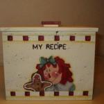 scatola ricette
